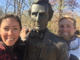 Land of Lincoln (Abe was clearly inspired by Will's beard here.)