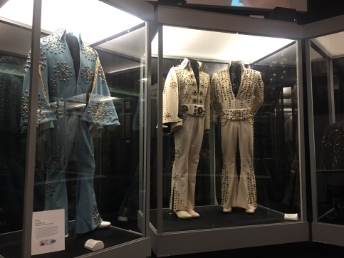 Elvis Presley's closet